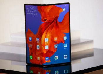 Huawei foldable mate x