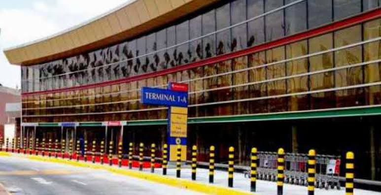 The girls were intercepted at Jomo Kenyatta Airport in Kenya