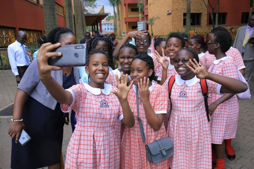 Shouts of joy as Kampala Parents pupils #PassPLE with 4,5,6 aggregates