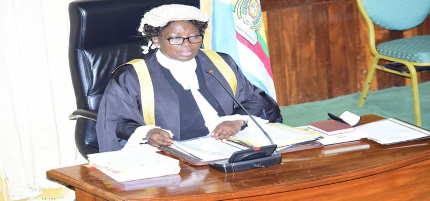 Speaker Rebecca Kadaga