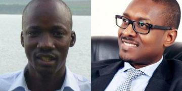 The late Kenneth Akena and Matthew Kanyamunyu