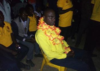 MP Musasizi after being declared winner