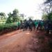 Museveni has on Monday embarked on the third day of the Afrika Kwetu trek