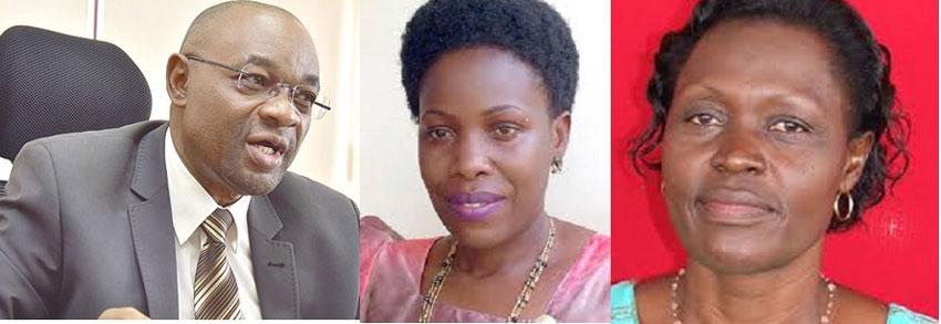 New Ministers Raphael Magyezi, Judith Nabakooba, Beatrice Anywar