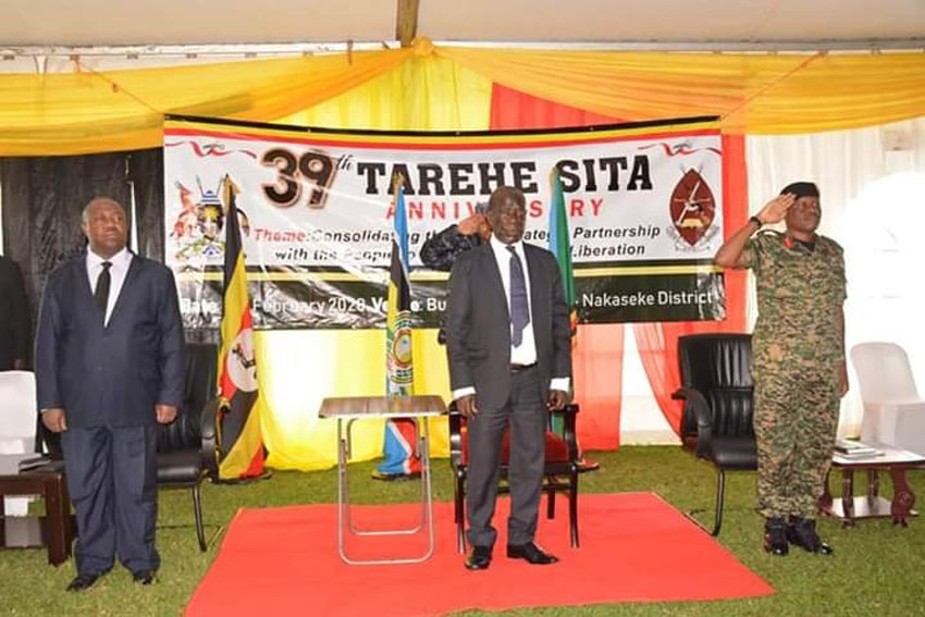 Vice President of Uganda Edward Kiwanuka Ssekandi on Tuesday launched activities to mark the 39th Tarehe Sita Anniversary celebrations