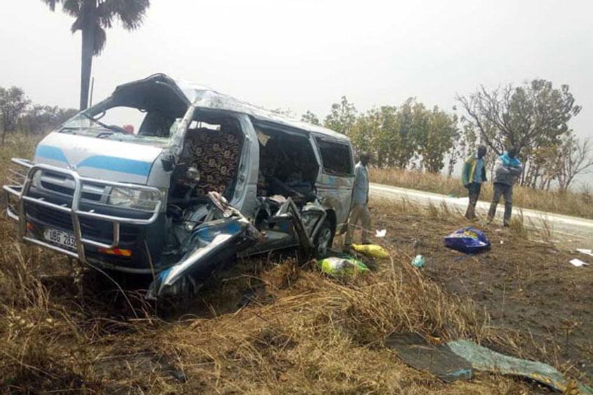 Nwoya road accident