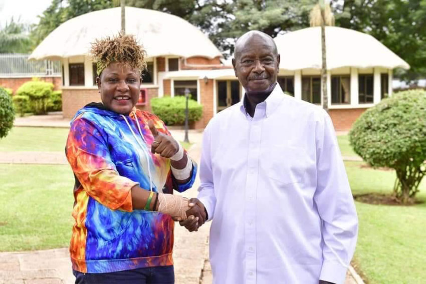 Full Figure ne Pulezidenti Museveni