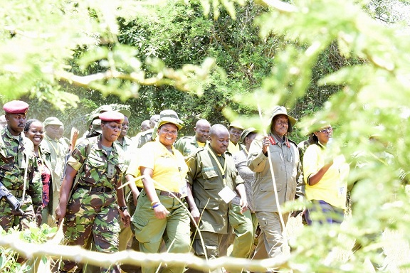 Museveni will lead a six day trek code-named Africa Kwetu starting Saturday, January 4, 2020.