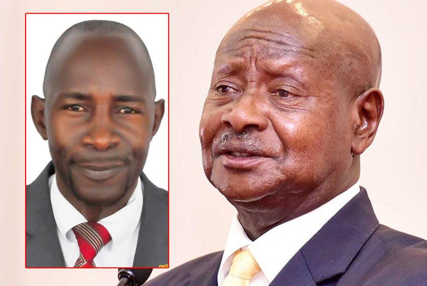 MP Luttamaguzi and President Museveni