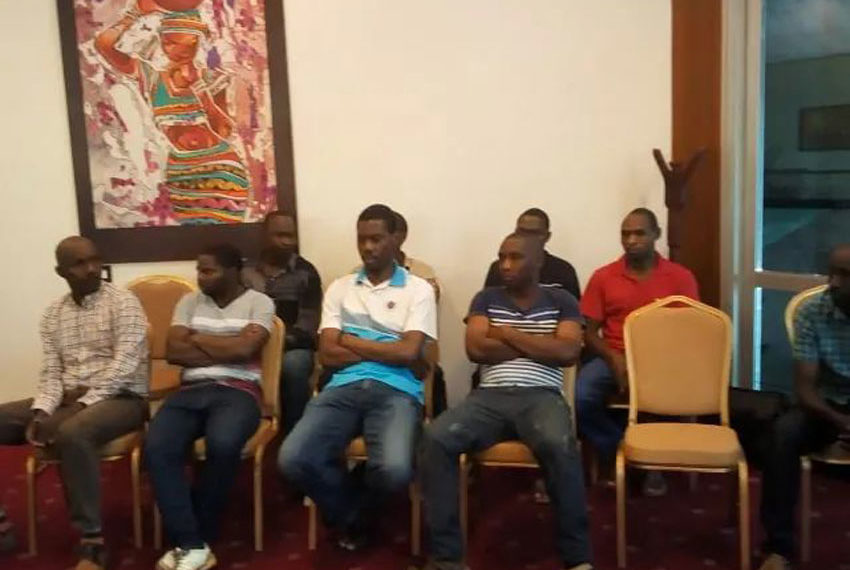 Freed Rwandan nationals