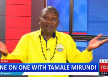 Omuwabuzi wa Pulezidenti ku nsonga za mawulire Joseph Tamale Mirundi