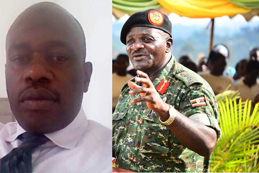 Ashraf Simwogerere and Gen Katumba Wamala