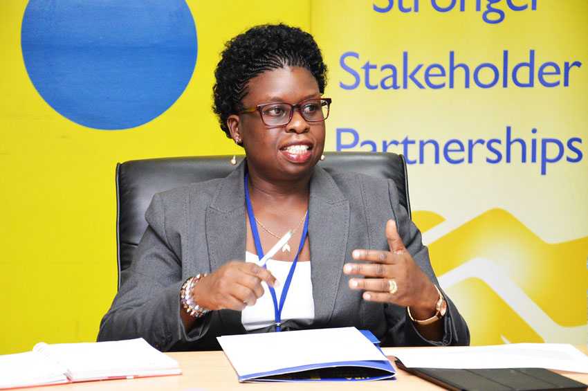 Former URA Commissioner General Doris Akol