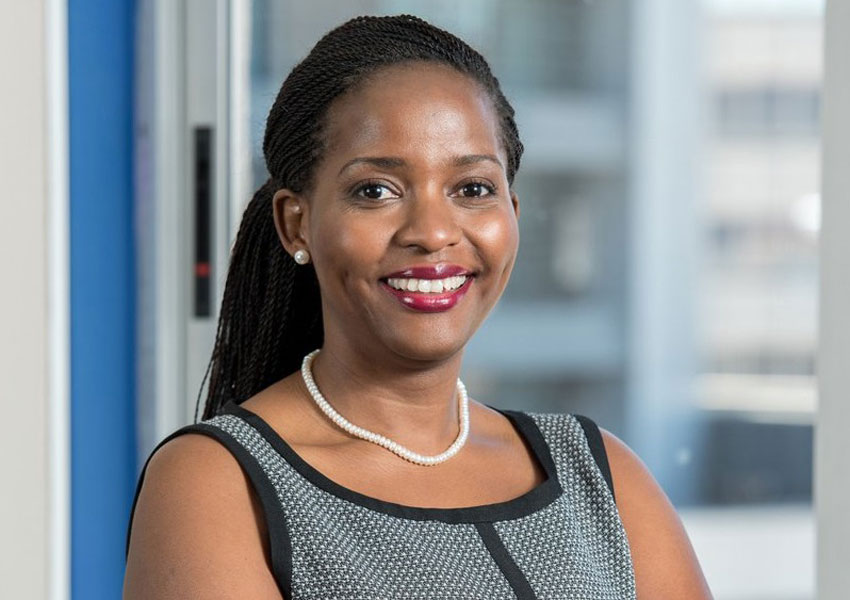 Anne Juuko, the new Stanbic Bank CEO