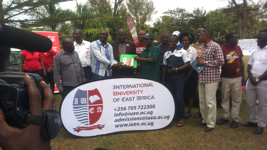 Safety first as IUEA- Eastern Motor Club Rally is launched in Jinja
