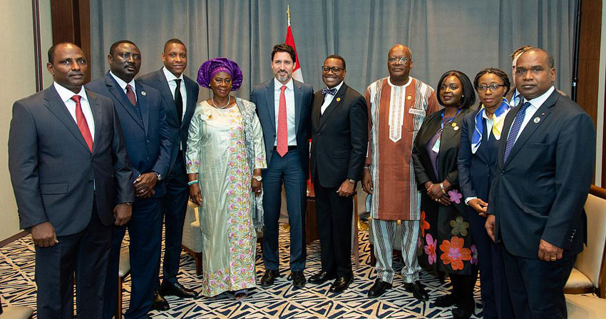 Canadian Prime Minister Justin Trudeau meets African leaders to advance conflict resolution, economic security