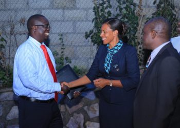 Dr Rukundo, who assumed office last year in acting capacity, from UTB CEO Lilly Ajarova, is the new Ngamba Island boss