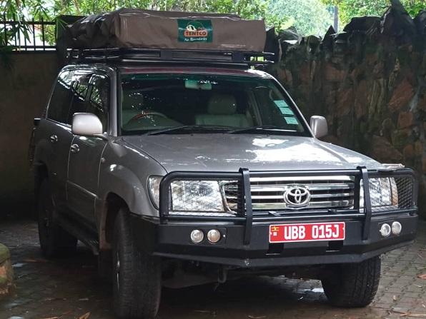 The missing self Drive Uganda van