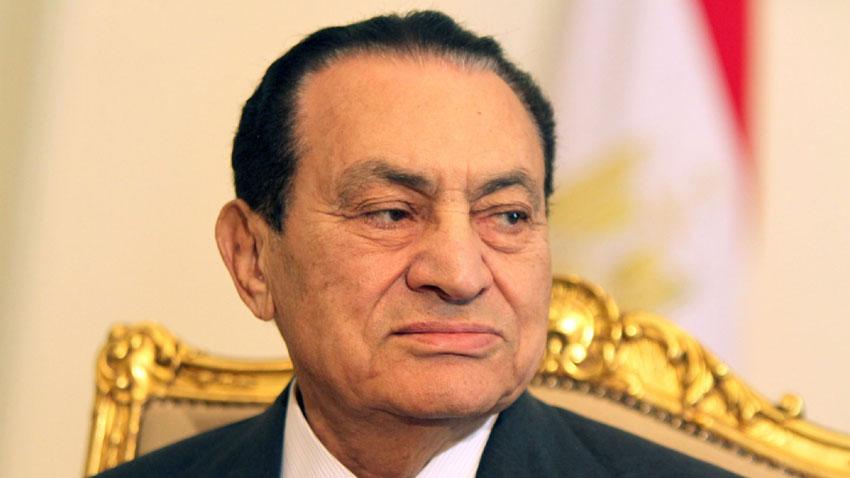 Egypt former president Hosni Mubarak