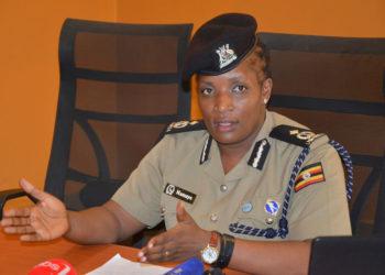 Uganda police Deputy Spokesperson Polly Namaye