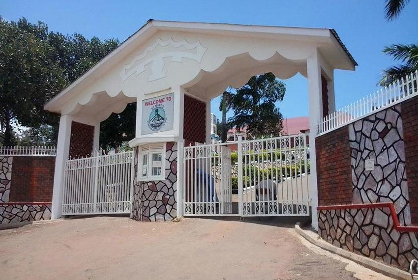 St Marys Kitende, main gate