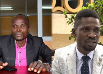 Ronald Mayinja and Bobi Wine