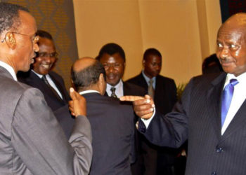 Museveni ne Kagame nga basisinkanye gye gye buvuddeko