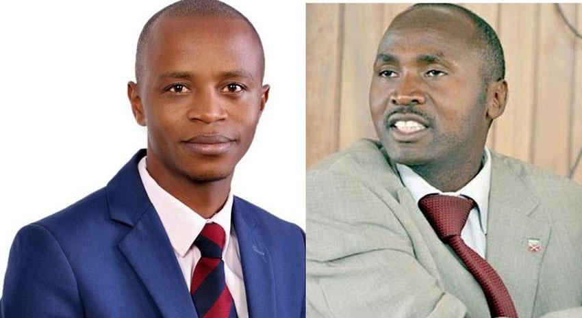 John Patrick Kateeba ku kkono ayagala okusigukulula Sekikubo ku ddyo ku kifo ky'obubaka bwe Lwemiyaga mu Palimenti