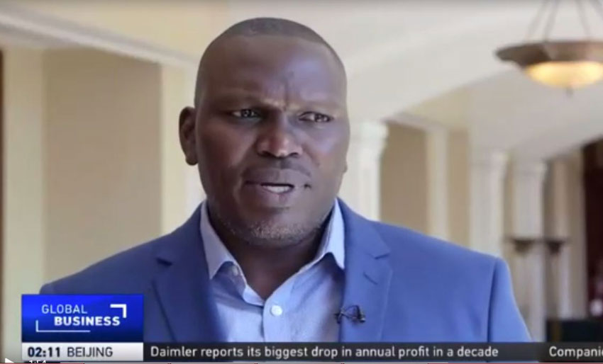 Joseph Masembe, CEO Little Hands Go Green