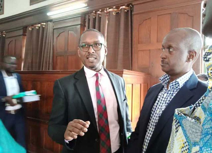 Matthew Kanyamunyu at High Court in Kampala