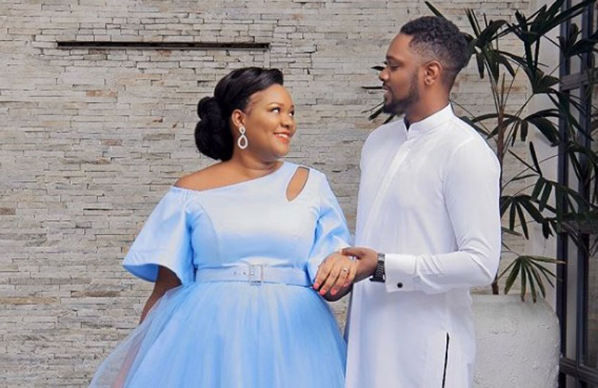 Princess Nkinzi and lover Gareth Onyango