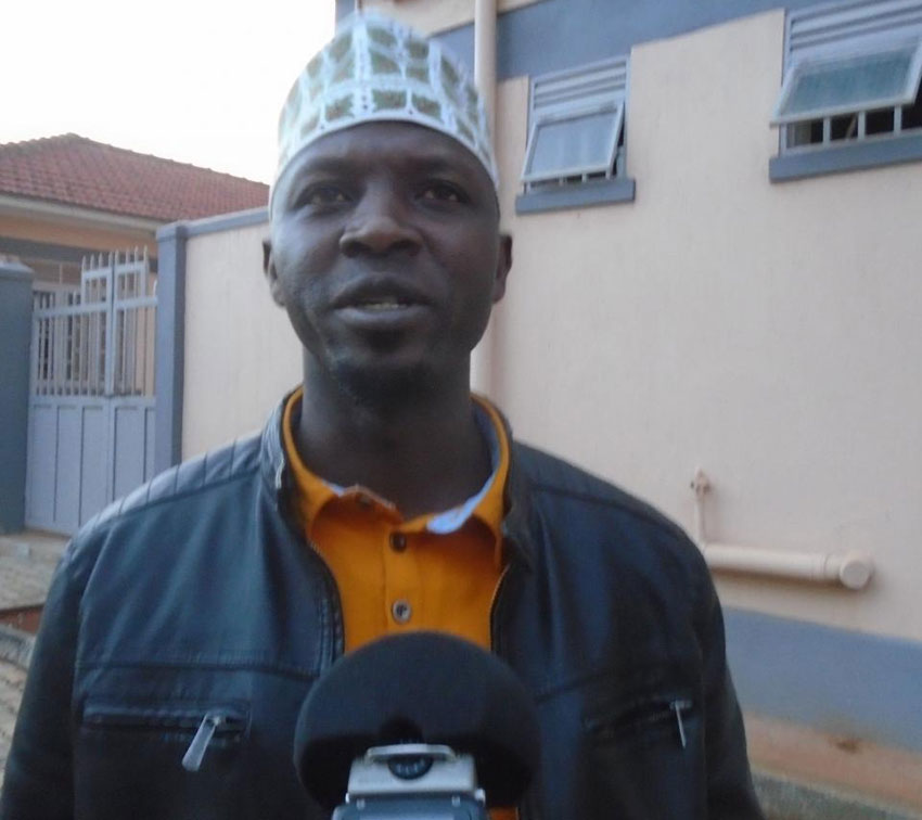 Kassim Kamugisha, the Kabale District National Resistance Party Youth League Chairperson