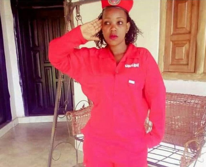 Rita Nabukenya atomeddwa kabangali ya Poliisi naafiirawo
