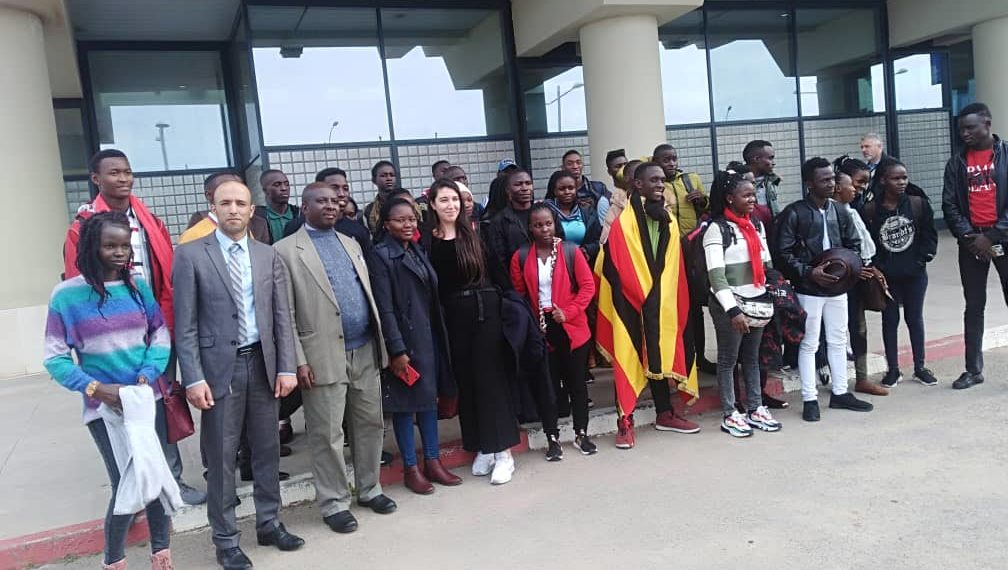 The Uganda Mission in Algiers received the 3rd Batch of the students on Algerian Scholarships. This is part of the 101 students admitted this year to study various science based programmes