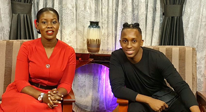 Nakazibwe with Bruno K