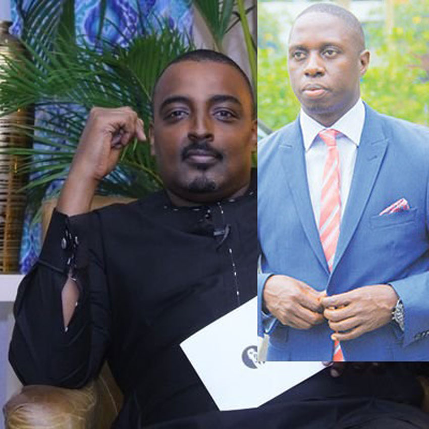 Cedric Babu and Muhammad Nsereko