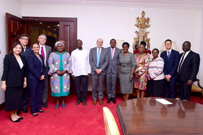 EU and UN Delegations meet President
