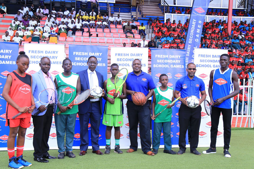 Fresh Dairy Secondary School Games edition 2020 officially kicks off