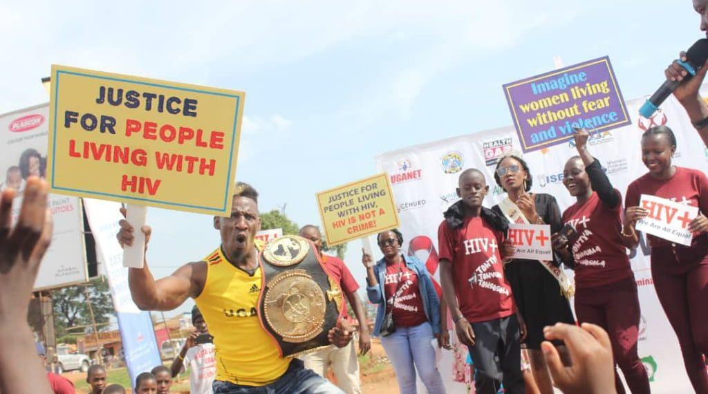 Kick boxer Moses Golola