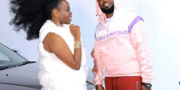 Angella Katatumba and producer Daddy Andre