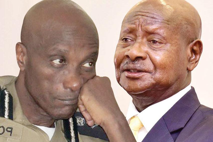 Gen Kale Kayihura and President Museveni