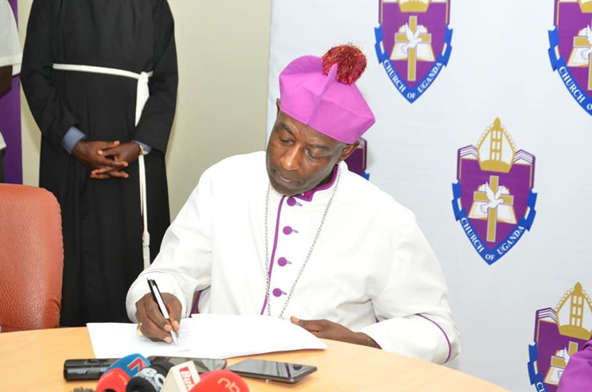 The Archbishop Dr Samuel Stephen Kaziimba Mugalu