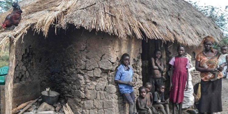 Some of teh kiryandongo residents that have been allegedly evicted