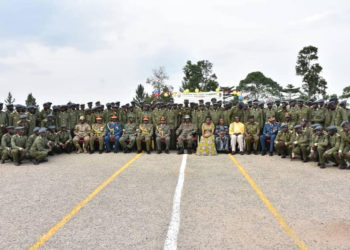President YK Museveni Commissions Young Officer Cadets.