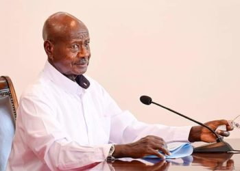 Pulezidenti Yoweri Kaguta Museveni nga ayogerako eri e Ggwanga ku bikwata ku mbeera nga bweri okuva e kirwadde kya COVID 19 bwe kyalumba ensi