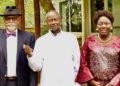 Museveni with Prof Sarfarah Niazi