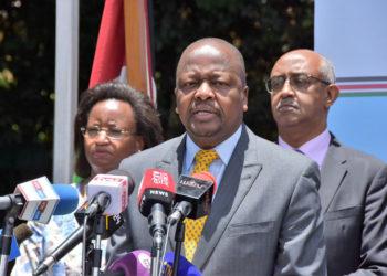 Kenya's Health CS Mutahi Kagwe