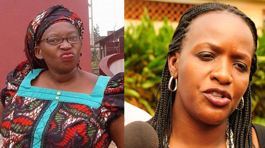 Dr Stella Nyanzi and Nabilah Sempala