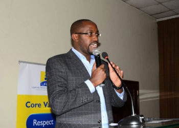 Ian Rumanyika, the Public and Corporate Affairs Manager URA