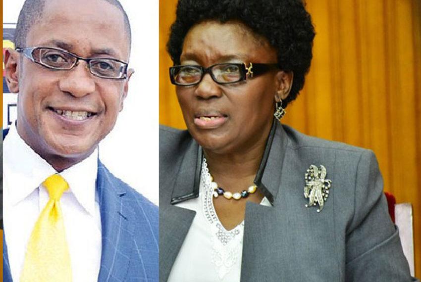 MP Sematimba and Speaker Kadaga